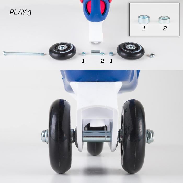 Stabilisierungsset für Inlineskates Play 3 / Play 4 / Play 5