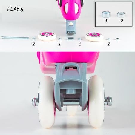 ערכת לימוד החלקה על רולרבליידס לילדים דגם Play