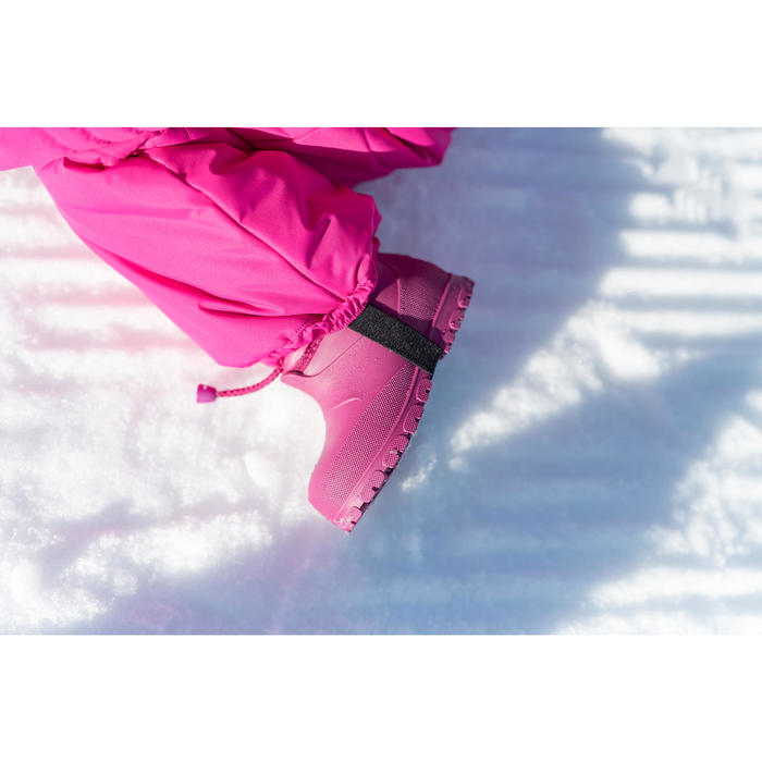 Babies' Snow/Sledge Boots Warm - Pink