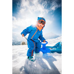 Bottes de neige / luge bébé WARM bleues