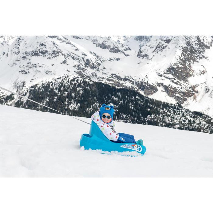 Ski-/sleejas voor peuters Warm Reverse koraalrood