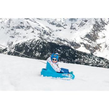 嬰幼兒滑雪/雪橇吊帶褲Warm - 藍色
