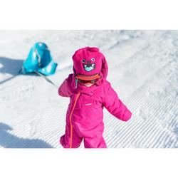 Skibril voor jonge kinderen om te sleeën bij mooi weer rood