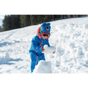 嬰幼兒滑雪/雪橇連身雪衣Warm - 藍色