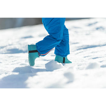 Baby snow / sledging boots WARM - Blue
