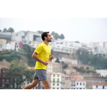 SHORT RUNNING HOMME RUN DRY + N GRIS CLAIR