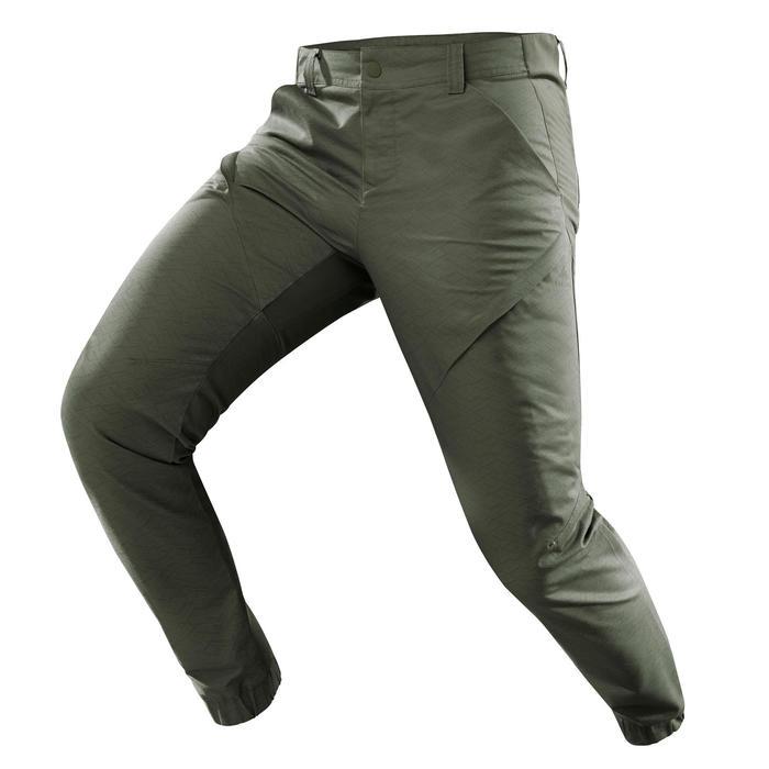 Pantalon randonnée nature NH500 fit kaki homme