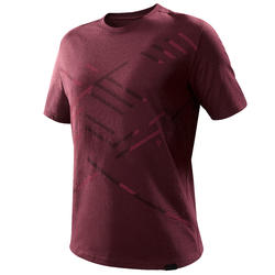 Men's T shirt NH500 - Chocolate