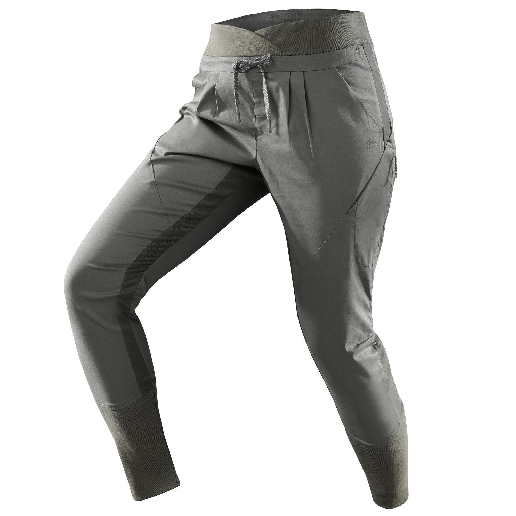 Wanderhose NH500 Fit Damen kaki für Naturwanderungen | Bekleidung > Hosen > Outdoorhosen | Grün - Khaki | Quechua