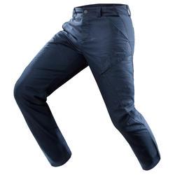 Pantalón senderismo naturaleza NH500 regular azul marino hombre