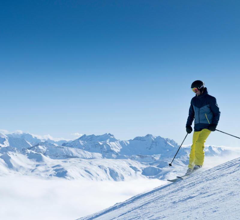 ski homme débutant