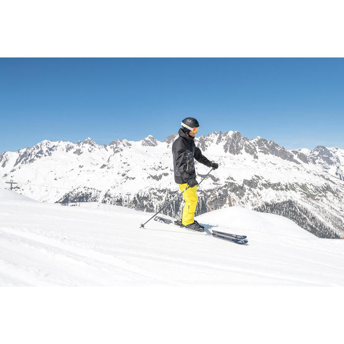Heren ski-jas voor pisteskiën SKI-P JKT 150 zwart