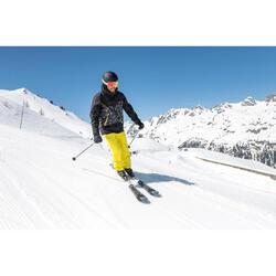 Skijacke Piste 150 Herren schwarz