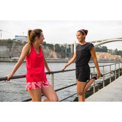 Laufschuhe Run Comfort Damen schwarz/grau