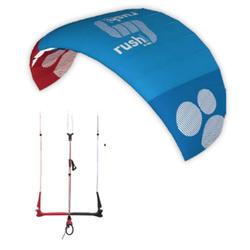 Kite Rush Pro school - 4 lijner power/depower/ - HQ - 3m