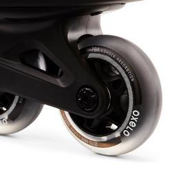 Patin à roues alignées entraînement homme FIT100 noir gris