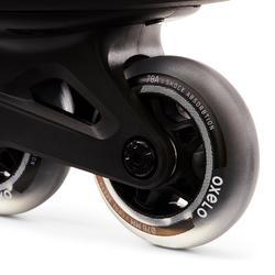 Roller fitness homme FIT100 noir gris