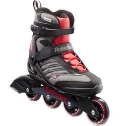 Inline Skates Fitness-Inliner Bravo Damen schwarz/rot