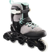 Fit100 Women's Inline Fitness Skates - Grey/Peppermint