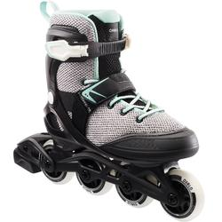 Skeelers dames FIT100 grijs/mint
