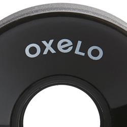 4 wielen 60 mm Oxelo-rolschaatsen volwassenen zwart