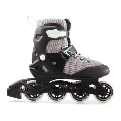 Roller fitness mujer FIT100 gris Peppermint
