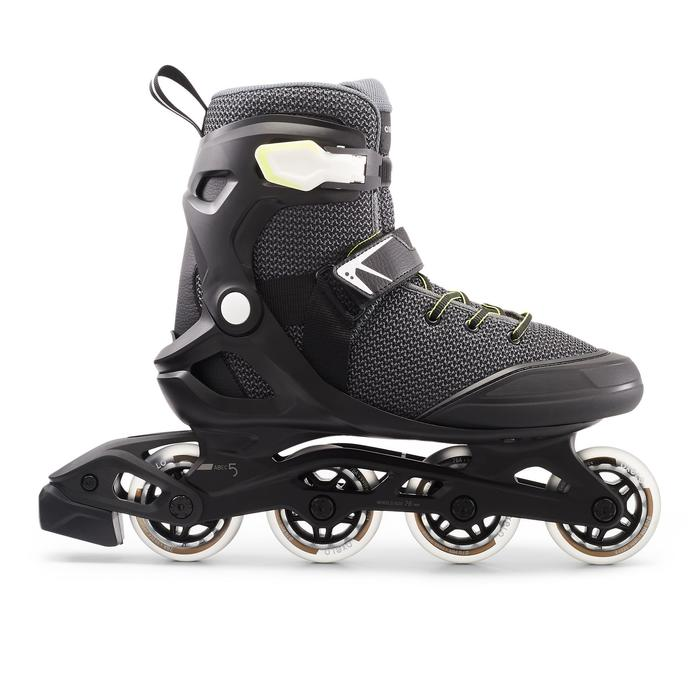 Inline Skates Inliner FIT100 Herren schwarz/grau