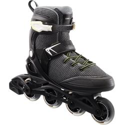 Roller fitness hombre FIT100 negro gris