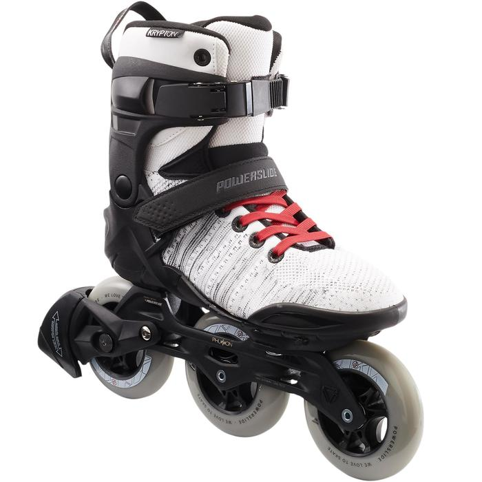 Inlineskates voor dames Powerslide PHUZION KRYPTON 3x100mm wit