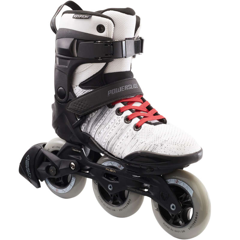ADULT INLINE SKATE - Phuzion Krypton 3x100mm White POWERSLIDE