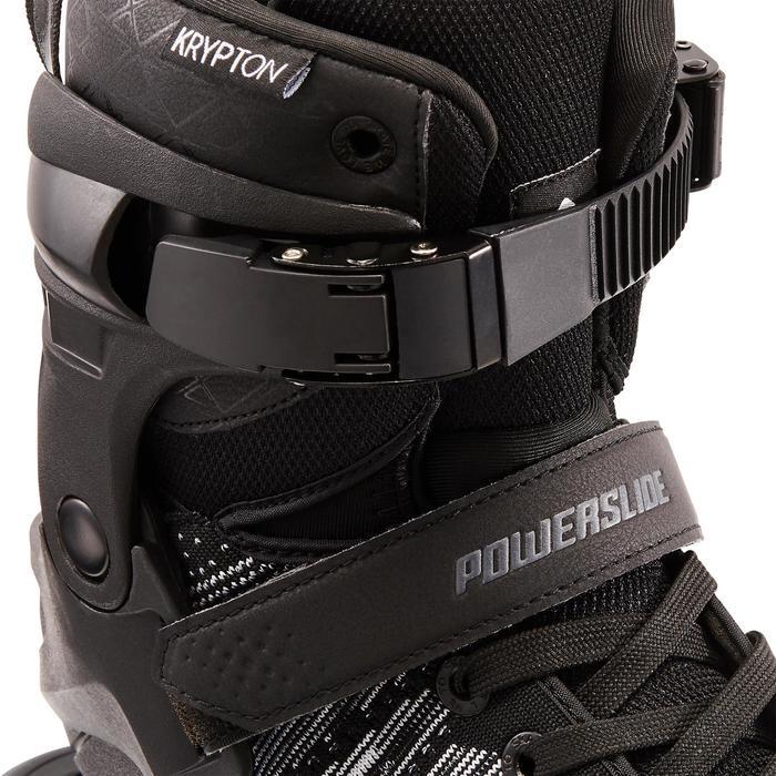 Roller Fitness Homme Powerslide PHUZION KRYPTON 3x100mm noir blanc