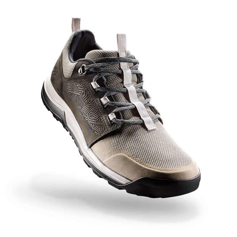 SCARPE ESCURSIONE UOMO Sport di Montagna - Scarpe uomo NH500 verde oliva QUECHUA - Scarpe e accessori trekking