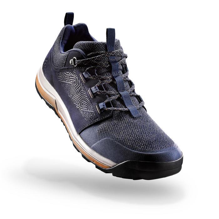 Chaussures de randonnée nature NH500 bleu marine homme