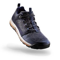 男款鄉村健行鞋NH500-軍藍色