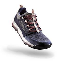 女款鄉村健行鞋NH500-軍藍色