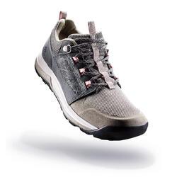 Wandelschoenen voor dames NH500 grijs