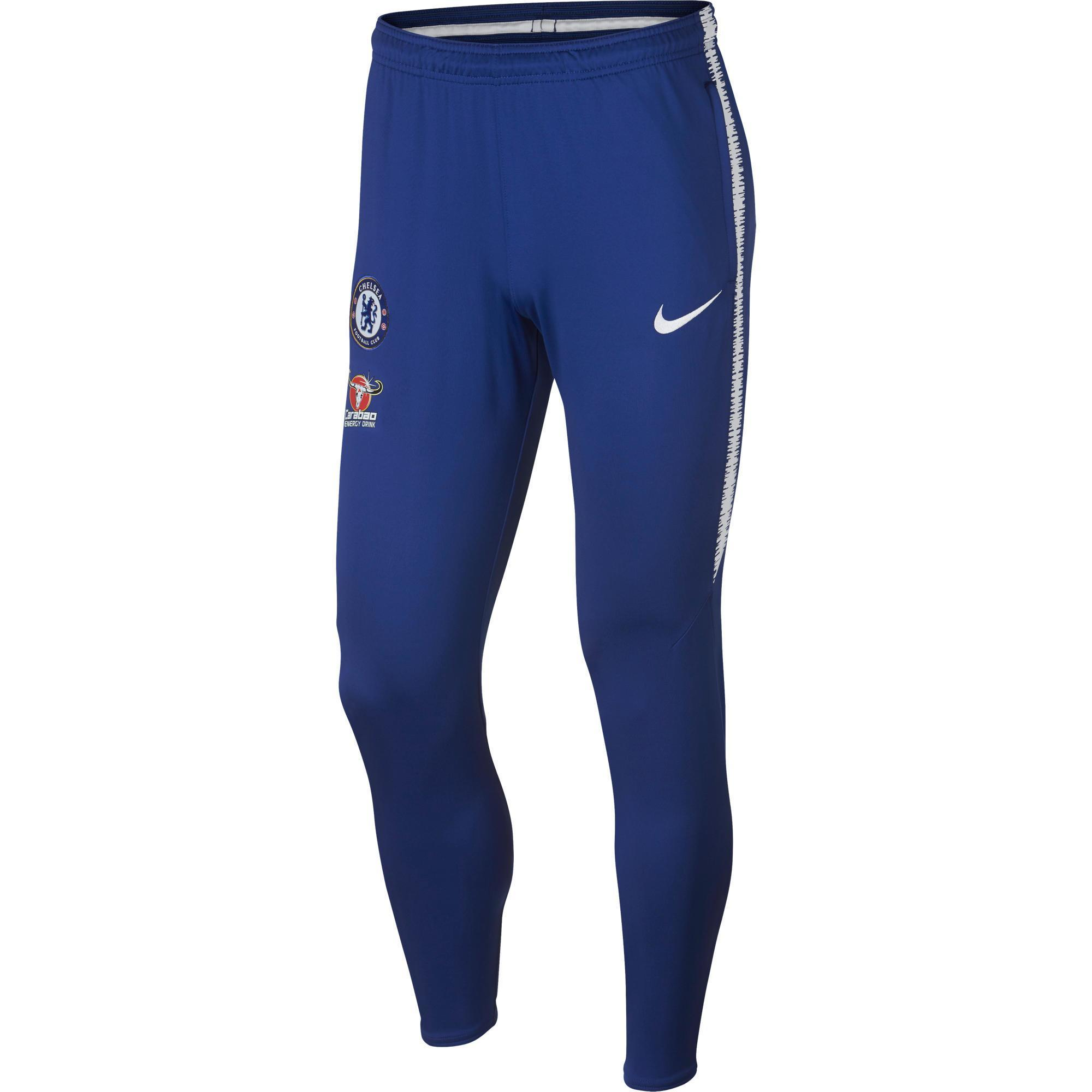 Nike Voetbal trainingsbroek Chelsea 18/19 blauw