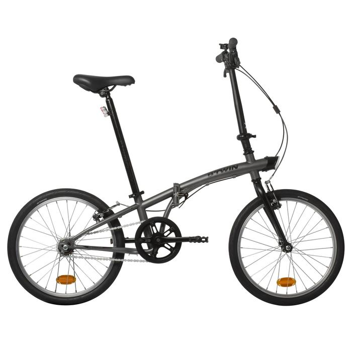 Bicicleta Plegable Tilt 100 Gris