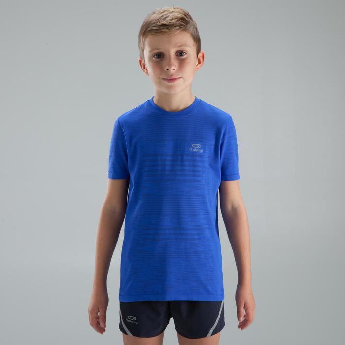 Tee Shirt athlétisme enfant skincare bleu