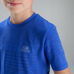 Tee Shirt enfant d'athlétisme skincare bleu