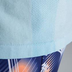 Hardloopshirt kinderen Skincare lichtblauw