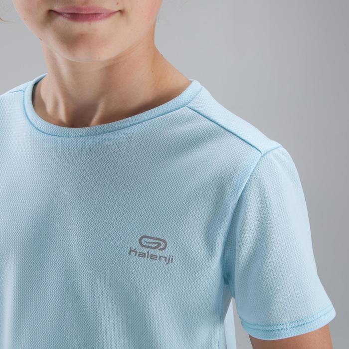 Atletiek T-shirt voor kinderen Run Dry lichtblauw
