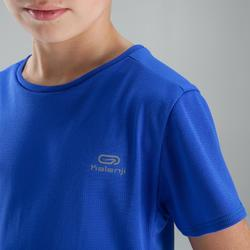 Run Dry children's athletics T-shirt indigo