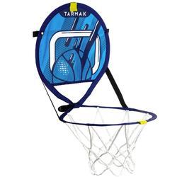 Mobiel basketbalbordje met bal voor kinderen en volwassenen The Hoop 100 blw