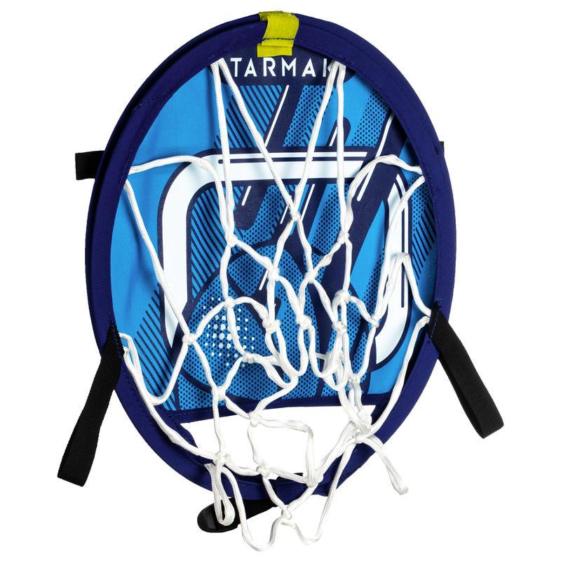 Panier de basket transportable avec ballon pour enfant et adulte HOOP 100 Bleu