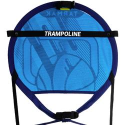 Basketballkorb transportabel Hoop 100 mit Ball blau
