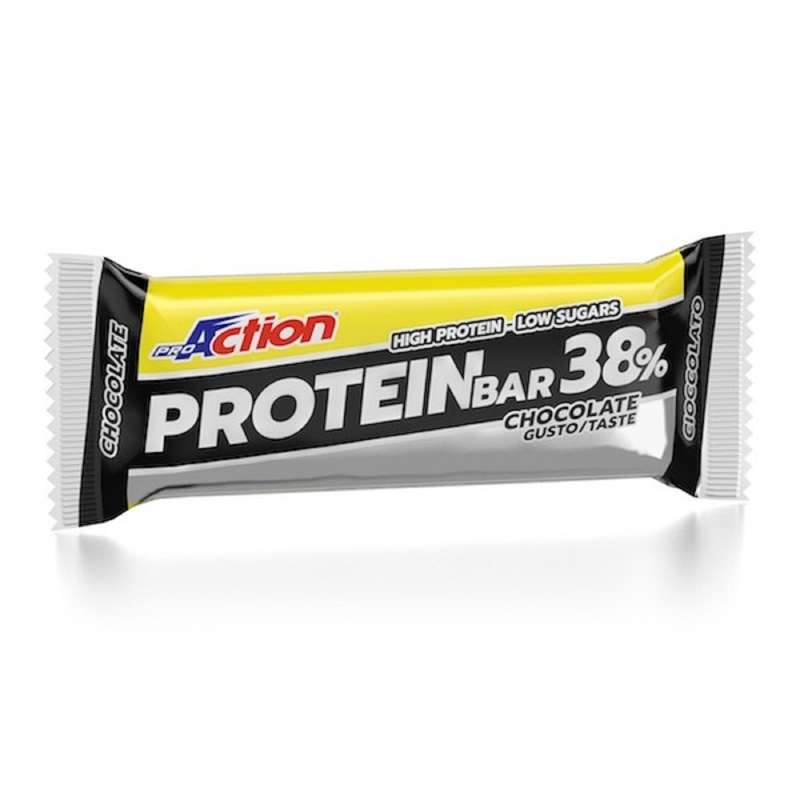 PROTEINE E COMPLEMENTI ALIMENTARI Proteine e complementi - Barretta Protein Bar Ciock 38% PROACTION - Boutique alimentazione 2019