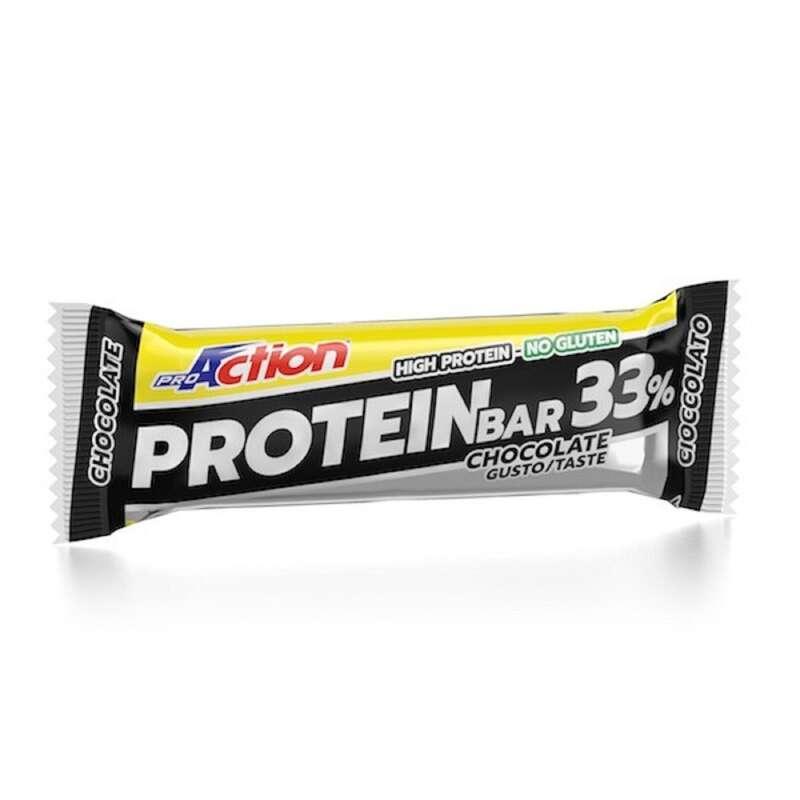 PROTEINE E COMPLEMENTI ALIMENTARI Proteine e complementi - Barretta Protein Bar Ciock 33% PROACTION - Boutique alimentazione 2019