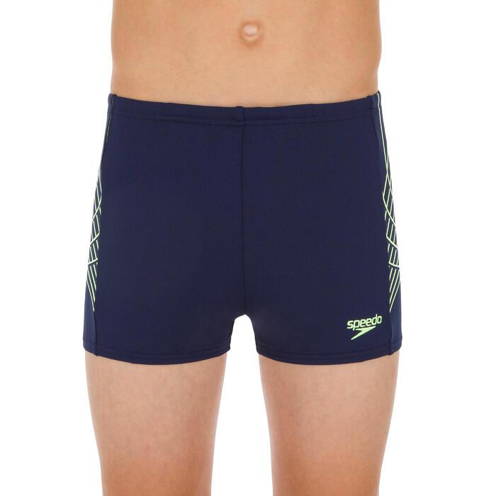 Zwemboxer voor jongens blauw dev