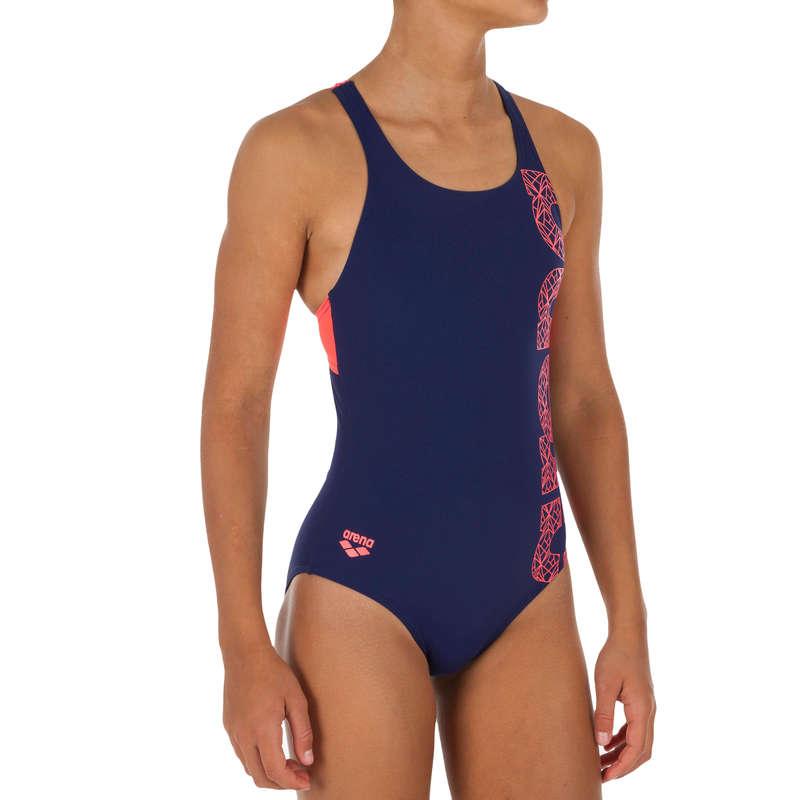 GIRL'S SWIMSUITS Clothing - Girls' Swimsuit Arena Blue ARENA - Swimwear and Beachwear